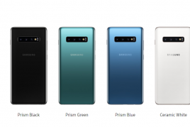 Galaxy S10 / S10+に新色スモーキーブルー・プリズムシルバーが登場