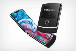 縦折りスマホ、Motorola RAZRの発表が11月13日に決定