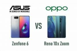 Zenfone 6とReno 10x Zoom、買うべきはどっち?【スペック比較】