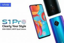vivo S1 Pro発表。8GBメモリ&4500mAhバッテリー